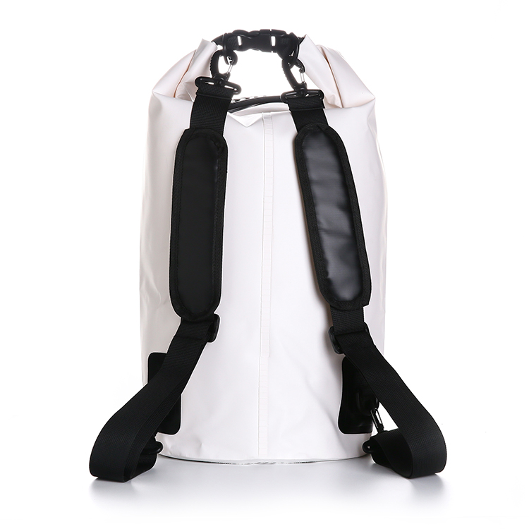 20L dry bag with handle and with mesh pocket